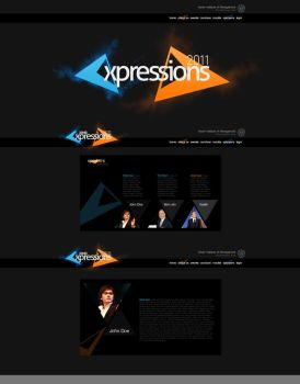 Proposed Webdesign and Logo by NamelessBasis