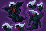 Darkrai redesign by Carnie-Vorex