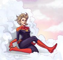 PR: Captain Marvel by ElizabethBeals