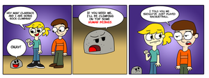 The Dumb Rock: Politically Incorrect by Emjaidi