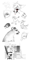 Doodles by Imalou