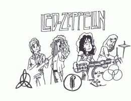 Led Zeppelin by dimitriman
