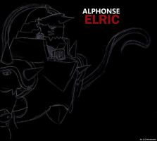 Al Elric Invert by witchiamwill