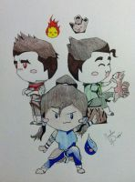 LoK Chibi Time! by mnightthepet