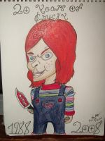 20 years of Chucky by chuckylover