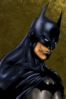 Batman Colored by likwidlead