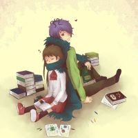 Time to read by Amichiinyan