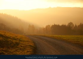 Taunus Evening I by kuschelirmel-stock