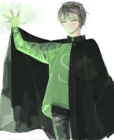 Slytherin side by mivoque