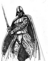 Vader quick sketch by MikeVanOrden