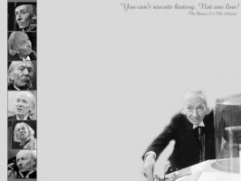 The First Doctor-Wallpaper by pfeifhuhn