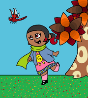 Animal Crossing Contest-Sunny in the Fall by PinkuFootsie