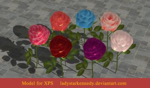 XPS Model - Rose by ladystarkennedy