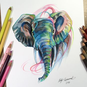 Elephant by Lucky978