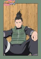 Shikamaru Cover by pablofcb