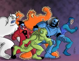 The Scooby Universe - FunkYeti by TheDeviantMakepeace
