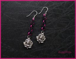 Rose Chainmaille by Marjolijn-Ashara