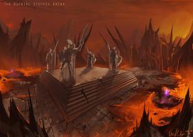 The Burning Steppes Arena by UnidColor