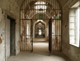Eastern State Penitentiary 28 by Dracoart-Stock