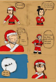 Christmas tale: Iroh Claus by Alv150