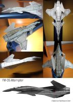 FM-05 Attempter Paper Model by fighterman35