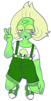 pale green peridot by toggetic