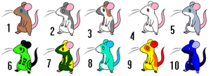 Rodent adopts by CleverConflict