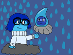 Sadness and Castform by nickel8
