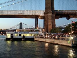 the east river ferry... by bklynTraveler