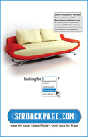 SFRBackpage.com Couch Ad by talayawhite