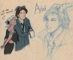 Redesign of Adel by Space-Jacket