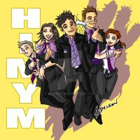 HIMYM by ADL-art