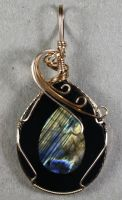 Inlay Labradorite J-1413m by skezzcrom