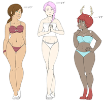 Body Type Study by taloheart