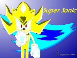 Super Sonic Wallpaper by Bit-Master