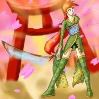 Electric Sword Cherry Blossom Voltsurge by S3rb4n