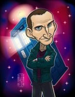 Dr. Who - the 9th Doctor 3D by lordmesa