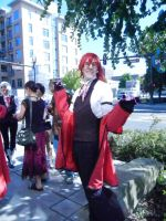 Grelle Cosplayer by Sadict
