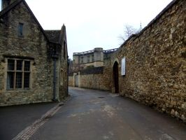 Old Passage, Oxford by fuguestock
