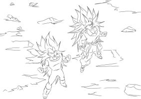 DBUC Saiyan Power Up by darkhawk5
