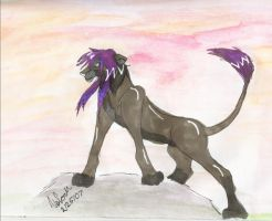 Kaoru as a lion king by Shattered-Godess