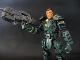 starship trooper custom figure by soulbrother73