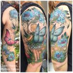 Honoring her daughter by Mythos-Tattoo