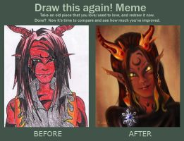 Draw This Again - Keish by sisaat