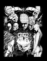 Hellraiser Limited Edition Leviathan t-shirt by DougSQ