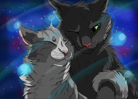 Hollyleaf x Ivypool *Speedpaint* ~ Jessie's Girl by BowtieMySoul