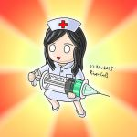 Nurse Doll in Silly-yu's style by RiverKpocc