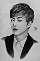 EXO Xiumin by yesfergian