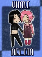 Yumi and Aelita by Luffy-Kun