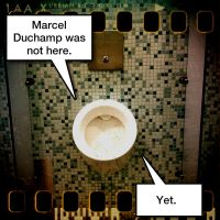 incoming duchamp by archizero